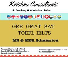 Krishna Consultants is the best study abroad consultancy in India founded in year 1998. We are highly eminent and professional consultancy engaged in services like career counseling, providing genuine guidance to students seeking higher education abroad, visa assistance, admission guidance, scholarship assistance, travel assistance and coaching.