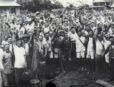 The Raid at Cabanatuan was a rescue of Allied prisoners of war (POWs) and civilians from a Japanese camp near Cabanatuan City, in the Philippines. On January30, 1945, during World War II, United States Army Rangers, Alamo Scouts, and Filipino guerrillas liberated more than 500 from the POW camp.