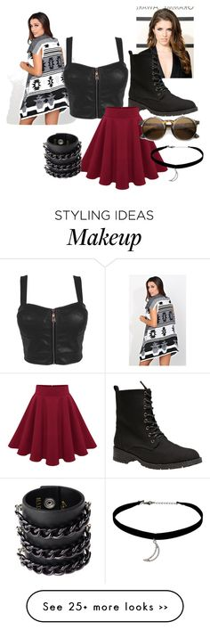"""Untitled #192"" by rkburke on Polyvore featuring Wet Seal, Topshop and Mia Bag"
