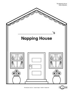 The napping house arts and crafts