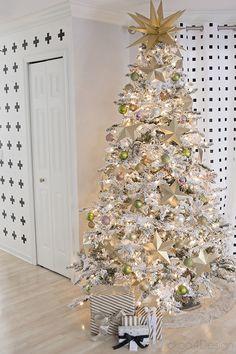 Christmas Blogger Stylin Home Tours - Cuckoo4Design