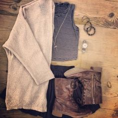 Casual and cute!