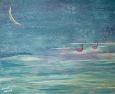 Let's Dream Together by Elizabeth McDonnell. A little behind-the-scenes of how this painting came together New Art, Behind The Scenes, Let It Be, Shop, Painting, Paintings, Draw, Store, Drawings