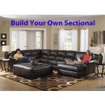 Jackson Furniture - Lawson Build Your Own Sectional in Chocolate Leather - 4243-00  SPECIAL PRICE: $1,989.00