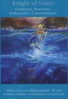 King of Water - Archangel Power Tarot Card Deck