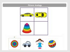 Read about what types of questions appear in the OLSAT Pictorial Reasoning section, such as Picture Series and Picture Analogies. Kindergarten Test, Kindergarten Pictures, Preschool Pictures, Kindergarten Activities, Teaching Math, Logic Games For Kids, Fun Worksheets For Kids, Educational Games For Kids, Kids Learning Activities