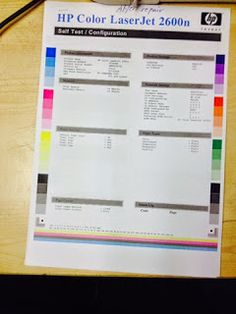 Worldwide Electronic-Hardware Solutions: How to repair double image on hp color laserjet 26...