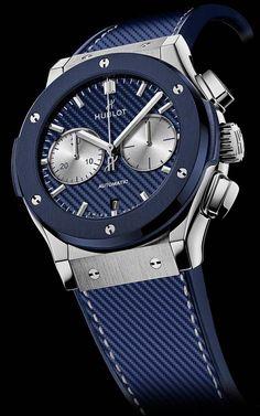 La Cote des Montres : Hublot, partenaire de la 79e édition du Bol d'Or Mirabaud, dévoile sa montre en édition limitée Classic Fusion Chronograph Bol d'Or Mirabaud 2017