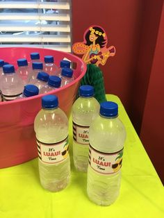 Luau Printables Make the Party - Behind the Scenes Belle Luau Theme, Bag Toppers, Easy Entertaining, Water Bottle Labels, 10th Birthday, Treat Bags, Drink Bottles, Behind The Scenes, Chloe