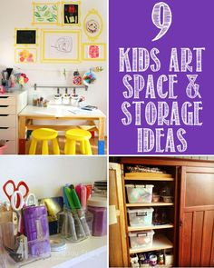 9 Kids Art Space and Storage Solutions.