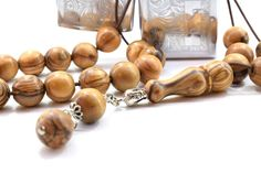 Olive Wood Komboloi Worry Beads Greek Komboloi Olive Wood Beads Stress Relief Gift for Him Made in Greece Gift for Dad Gift for Him Rhythmic Pattern, Ways To Relieve Stress, Natural Stress Relief, Wooden Beads, Gifts For Dad, Decorative Items, No Worries, Greek, How To Make