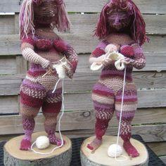 2016-07-30 15.51.10 Knit Art, Crochet Art, Crochet Dolls, Crochet Patterns, Textiles, Fat Women, Amigurumi Doll, Beautiful Crochet, Knitting Projects