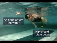 Swimming Freestyle 101: Body Rotation Part 1 - YouTube