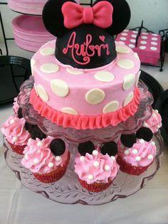 I want a minnie mouse birthday!!!!! Minnie mouse birthday cake