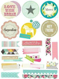 Stickers Printable…