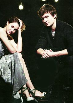 Shailene Woodley and Ansel Elgort my favorite actors I love the movie divergent with them in it and the fault in our stars. Hunger Games, Fault In The Stars, Hazel Grace Lancaster, Shailene Woodly, Augustus Waters, Ansel Elgort, Best Love Stories, The Best Films, John Green