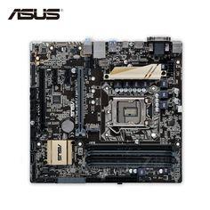 Asus H170M-PLUS Original New Desktop Motherboard H170 Socket LGA 1151 i7 i5 i3 DDR4 64G SATA3 Micro-ATX. Yesterday's price: US $360.36 (297.37 EUR). Today's price: US $317.12 (261.34 EUR). Discount: 12%.