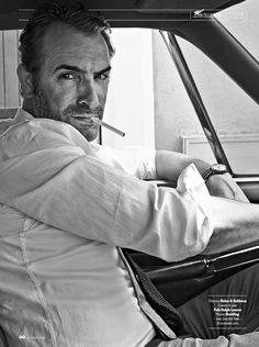 Jean Dujardin for GQ France Oct 2014.