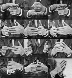 FRANK LLOYD WRIGHT HANDS, FROM THE FUTURE OF ARCHITECTURE BY FRANK LLOYD WRIGHT