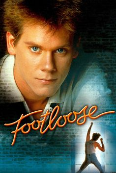 Footloose  Great dancing scenes....Happy movie!