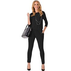 Abody Women Jumpsuits and Rompers Long Sleeve Side Pockets Elastic Waist Rompers Abody http://www.amazon.com/dp/B00PC7WK3Q/ref=cm_sw_r_pi_dp_HYXTub0G4RAQ9