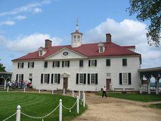 Mt. Vernon. George Washington's home. Near DC