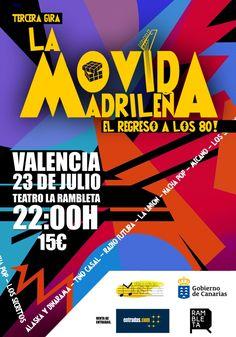 La Movida Madrileña llega a la Rambleta - http://www.valenciablog.com/la-movida-madrilena-llega-a-la-rambleta/