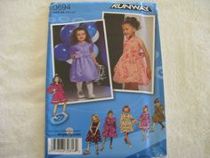 Simplicity Little Girl Dress Project Runway by KCDesignandBuild, $3.00