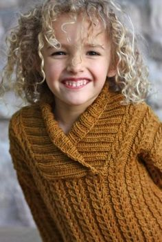 Yesternight Child's Pullover Sweater | Craftsy