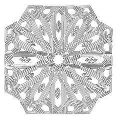 Mandalas For Painting: Arab Mandalas