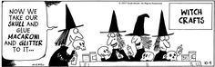 Eek! Comic Strip, October 09, 2007 on GoComics.com Halloween Cartoons, Halloween Themes, Fall Halloween, Happy Halloween, Halloween Humor, Halloween Stuff, Laugh Cartoon, Funny Cartoons, Funny Gags