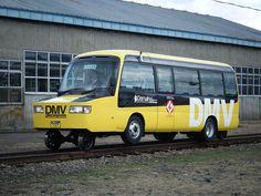 Dual Mode Vehicle - Road-rail vehicle