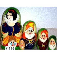 Russian Nesting Doll Snow White