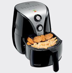 Aprenda deliciosas receitas da AirFryer e prepare batatas, coxinhas, pães de queijo, tortas, quibes, churros, cookies, cupcakes e muito mais.