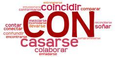 Verbos con preposición CON