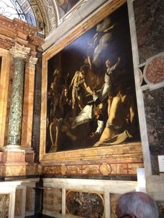 See 438 photos and 48 tips from 2694 visitors to Chiesa di San Luigi dei Francesi. Luigi, Vatican, Four Square, Italy, Spaces, Holiday, Painting, Art, Rome