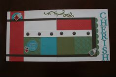 CTMH layout using Stella paper.... I don't know who made this.. if you do, please let me know