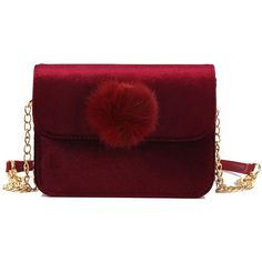 Burgundy all match simple pleuche mini messenger bag ($9.51) ❤ liked on Polyvore featuring bags, messenger bags, cross body messenger bag, courier bag, mini bag and red crossbody bag