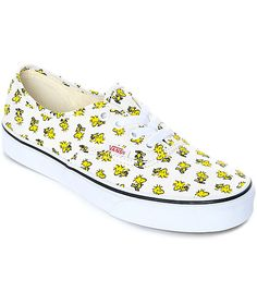 b107837b8d6d98 Vans x Peanuts Authentic Woodstock Skate Shoes