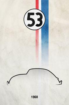 Design targato Herbie, il maggiolino tutto matto
