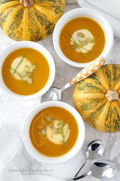 Vellutata di zucca - Butternut squash soup | From Zonzolando.com