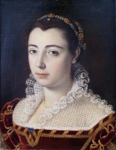 1570-1598 Scipione Pulzone - Portrait of a lady