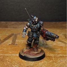 Jeff Vader's Gun Servitor. Inq28 Adeptus Mechanicus