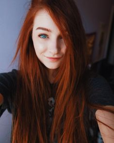 "1,901 Likes, 45 Comments - Rachel Gelmis (@whxsper) on Instagram: ""My hair photographs really red """