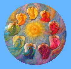 Engel            Diese Bastelpackung beinhaltet Material für zwei Engel.      Die Engel sind in verschiedenen Farbstimmungen erhältlich.