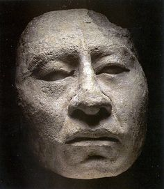 Maya stucco mask from Palenque