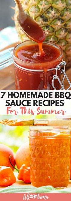Great roundup of homemade BBQ sauces. Perfect for grilling this summer!