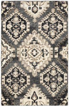 This contemporary hand-knotted rug features a beautiful geometric deco-inspired design and a neutral tone that's easy to work with. Crafted of plush Sari silk, it has a wonderfully luxurious feel you'll love....more and moreThis rug is available at...