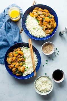 This paleo orange chicken is so much better and healthier than takeout! It's a quick and easy, whole30 compliant dinner that the whole family will love!