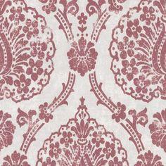 Tapetenmay Barock Wallpaper red